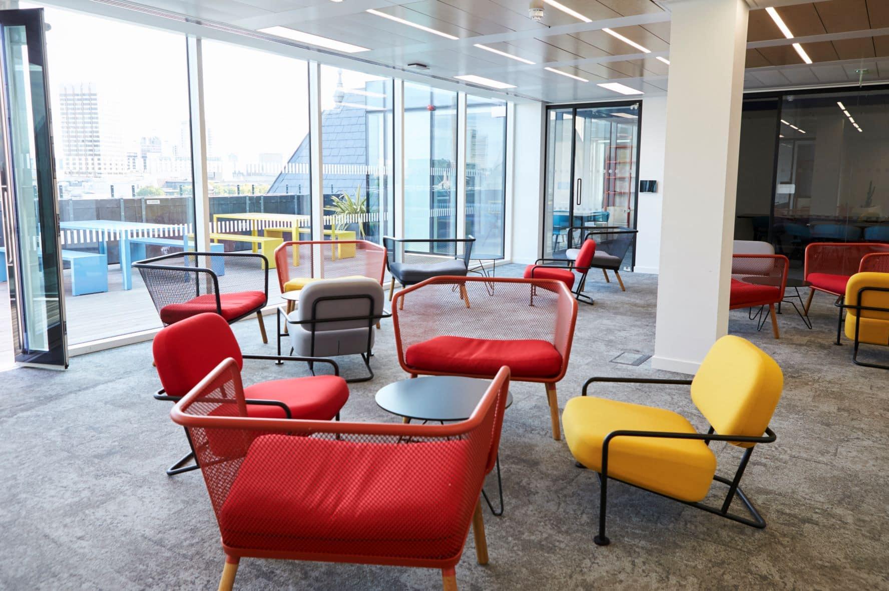 How Does Break Room Design Benefit Productivity?